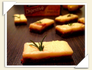 LEMON & ROSEMARY BARS DI GIULIA