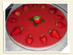 CHEESECAKE ALLE FRAGOLE DI ROSSANA