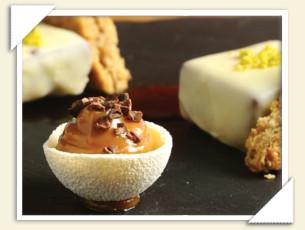 Bocconcini al cioccolato fondente e Original Digestive by Fabio Baldassarre