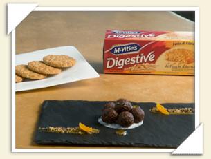 Salame al cioccolato con McVitie's Digestive ai Fiocchi d'Avena by Fabio Baldassarre