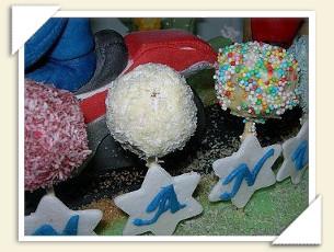CAKE POPS PAN DI SPAGNA E BISCOTTI DI IVANA