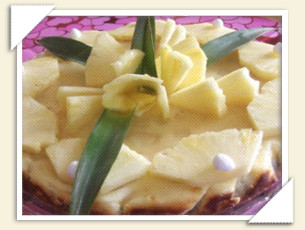 CHEESECAKE ALL'ANANAS DI GIOVANNA