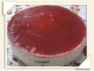 CHEESECAKE ALLE FRAGOLE DI VANNA