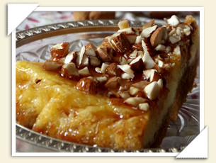 ALMONDS CHEESECAKE DI MARIA
