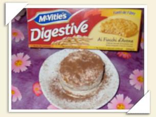 DESSERT CON McVITIE'S DI BRIGIDA
