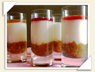 MINI CHEESECAKE CON TOPPING TRIGUSTO DI SABRINA