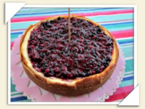 cheesecake ai frutti di bosco thumbnail