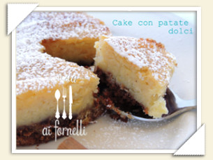CAKE CON PATATE DOLCI E AMARETTO DI CINZIA
