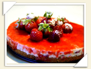CHEESECAKE ALLE FRAGOLE DI GIOVANNA
