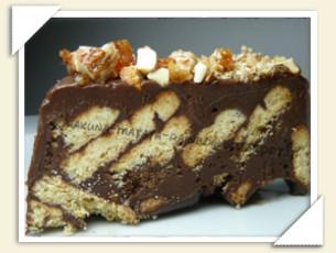 CHOCOLAT BISCUIT CAKE DI LARA