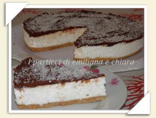 CHEESECAKE AL COCCO E CIOCCOLATO DI EMILIANA