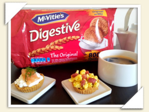 BRUNCH CON TARTINE DIGESTIVE DI TEA