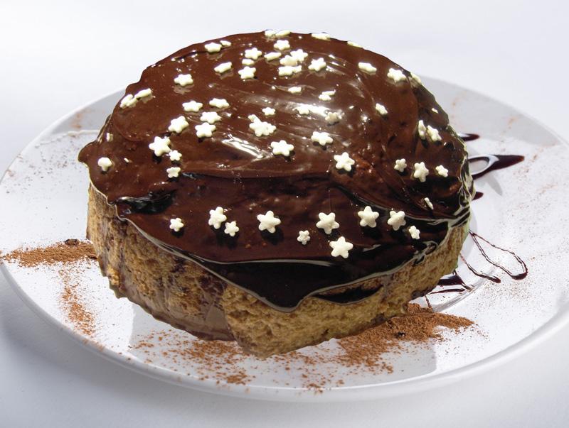Cupola menta cioccolato e McVitie's di Teresa