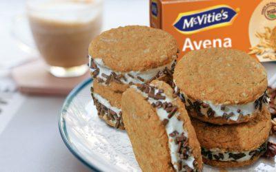 Biscotto gelato al mascarpone, panna e cioccolato di Valentina