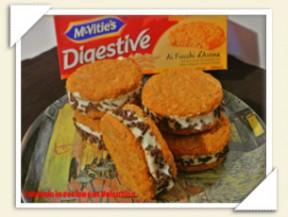 Biscotto gelato al mascarpone, panna e cioccolato di Valentina Caria