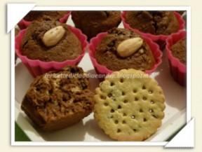 muffin al cioccolato con digestive
