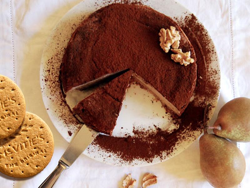 Cheesecake cioccolato e pere di Valeria