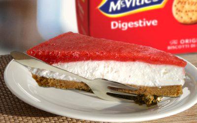 Cheesecake di fragole fresche di Ennio