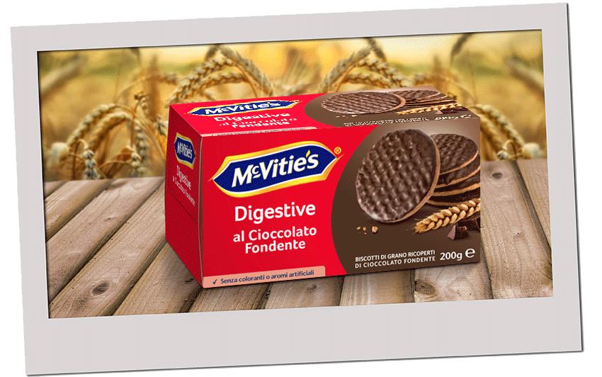 McVitie's Digestive al Cioccolato Fondente 2020