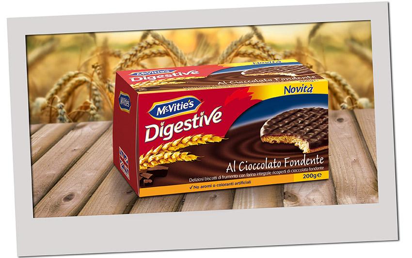 McVitie's Digestive al Cioccolato Fondente