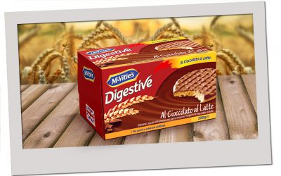 McVitie's Digestive al Cioccolato al Latte