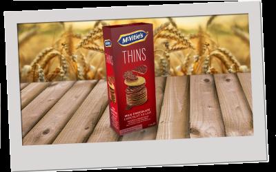 McVitie's Thins Milk Chocolate