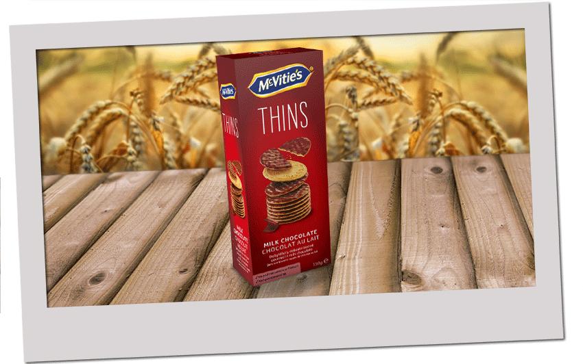 McVitie's Thins Milk Chocolate 2020