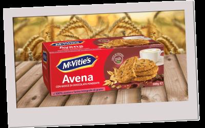 McVitie's Avena con Gocce di Cioccolato Fondente