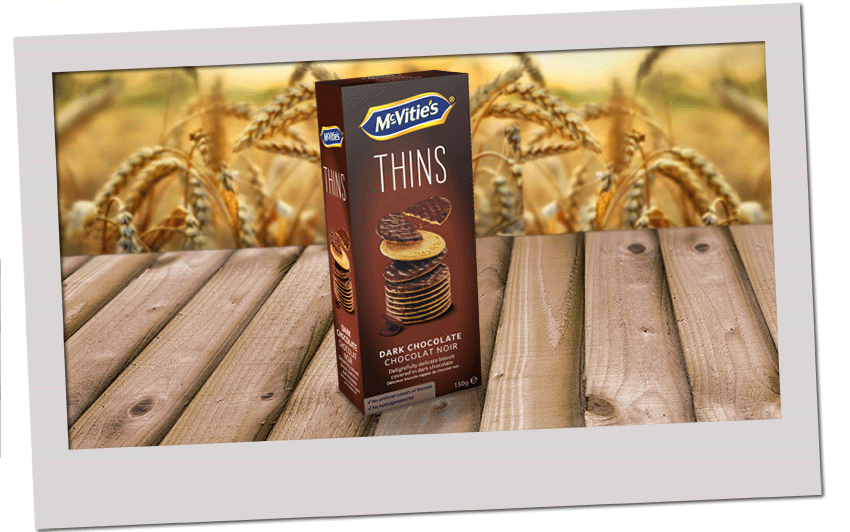 McVitie's Thins Dark Chocolate 2020