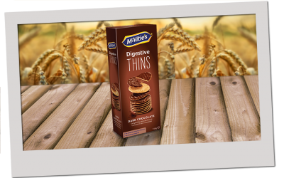 McVitie's Thins Dark Chocolate