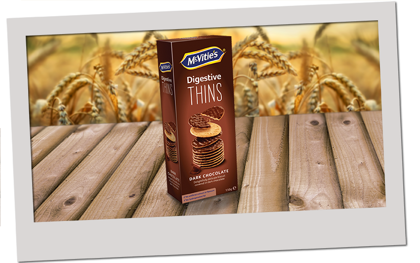 McVitie's Thins Dark Chocolate