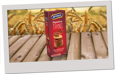 McVitie's Thins Milk Chocolate