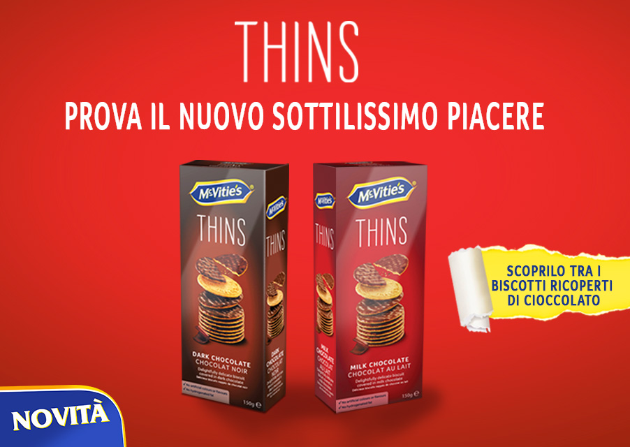 novità McVities thins