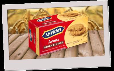 McVitie's Avena Classic Senza Glutine