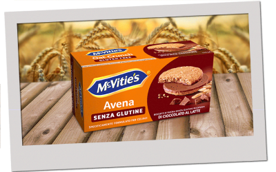 McVitie's Avena al Cioccolato al Latte Senza Glutine