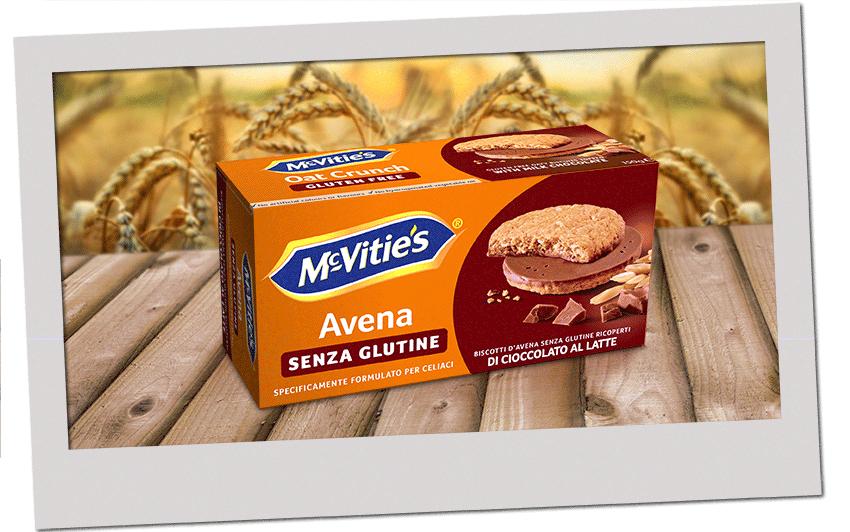 McVitie's Avena al cioccolato al latte senza glutine 2020
