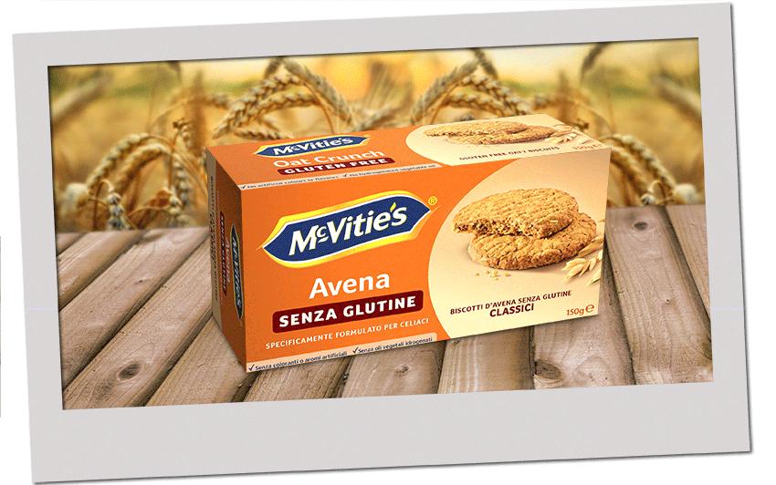 McVitie's Avena classic senza glutine 2020
