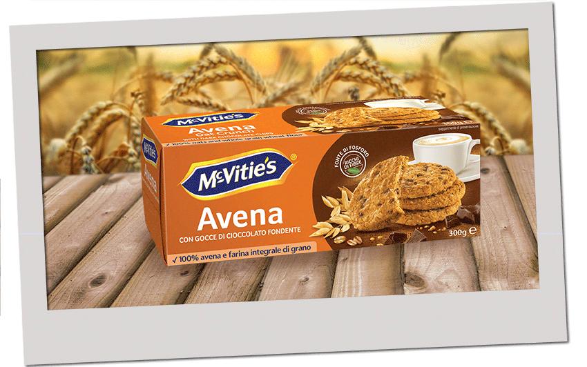 McVitie's Original Avena con gocce di cioccolato fondente 300g 2020