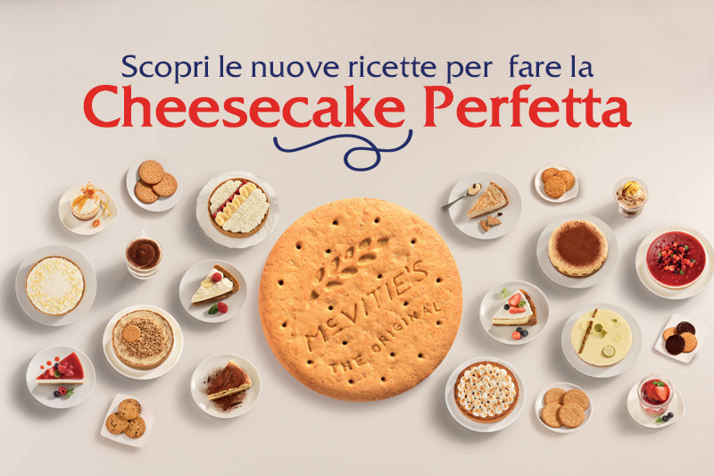 McVitie's slide cheesecake